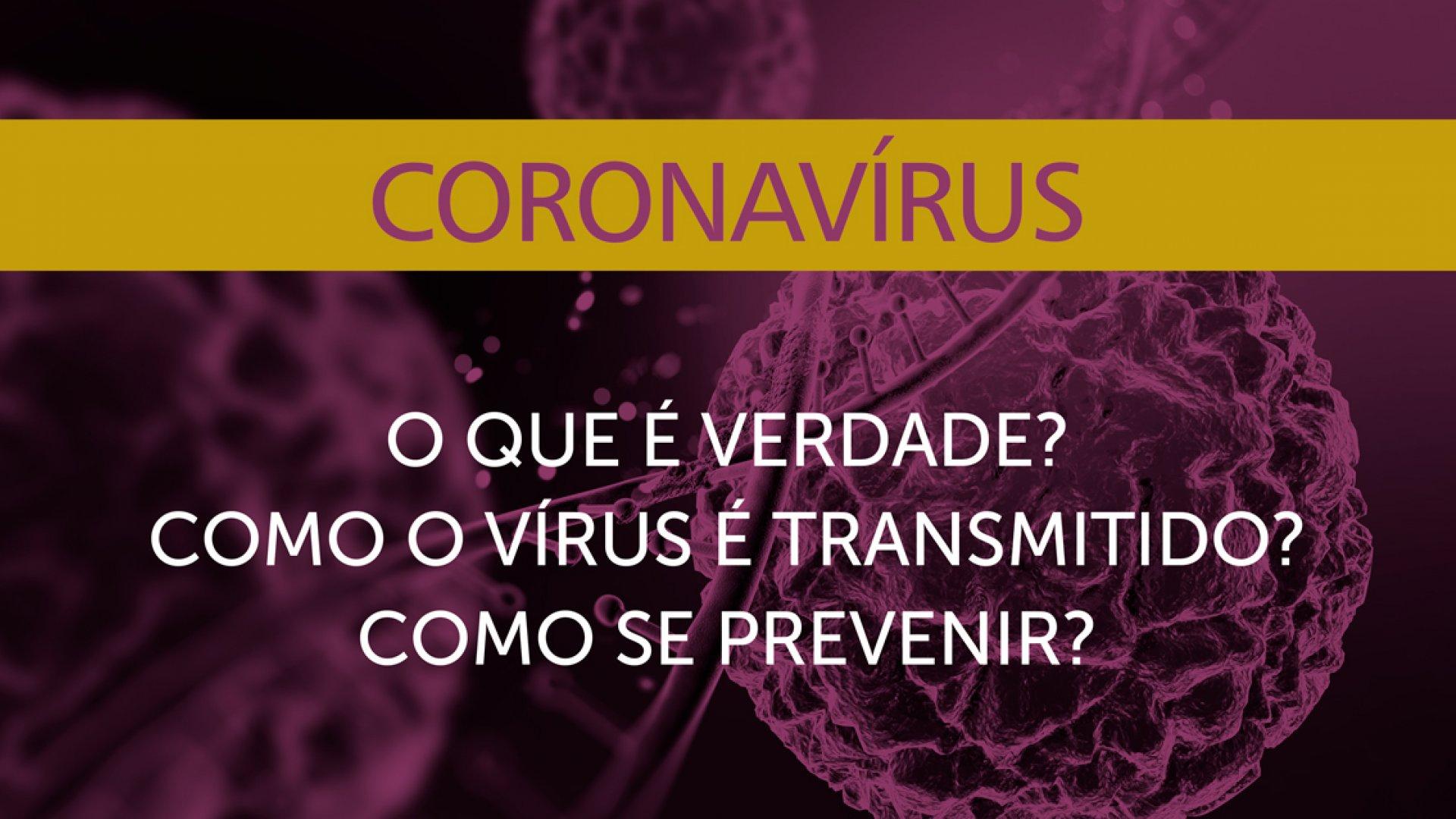 [O que é o coronavírus?]