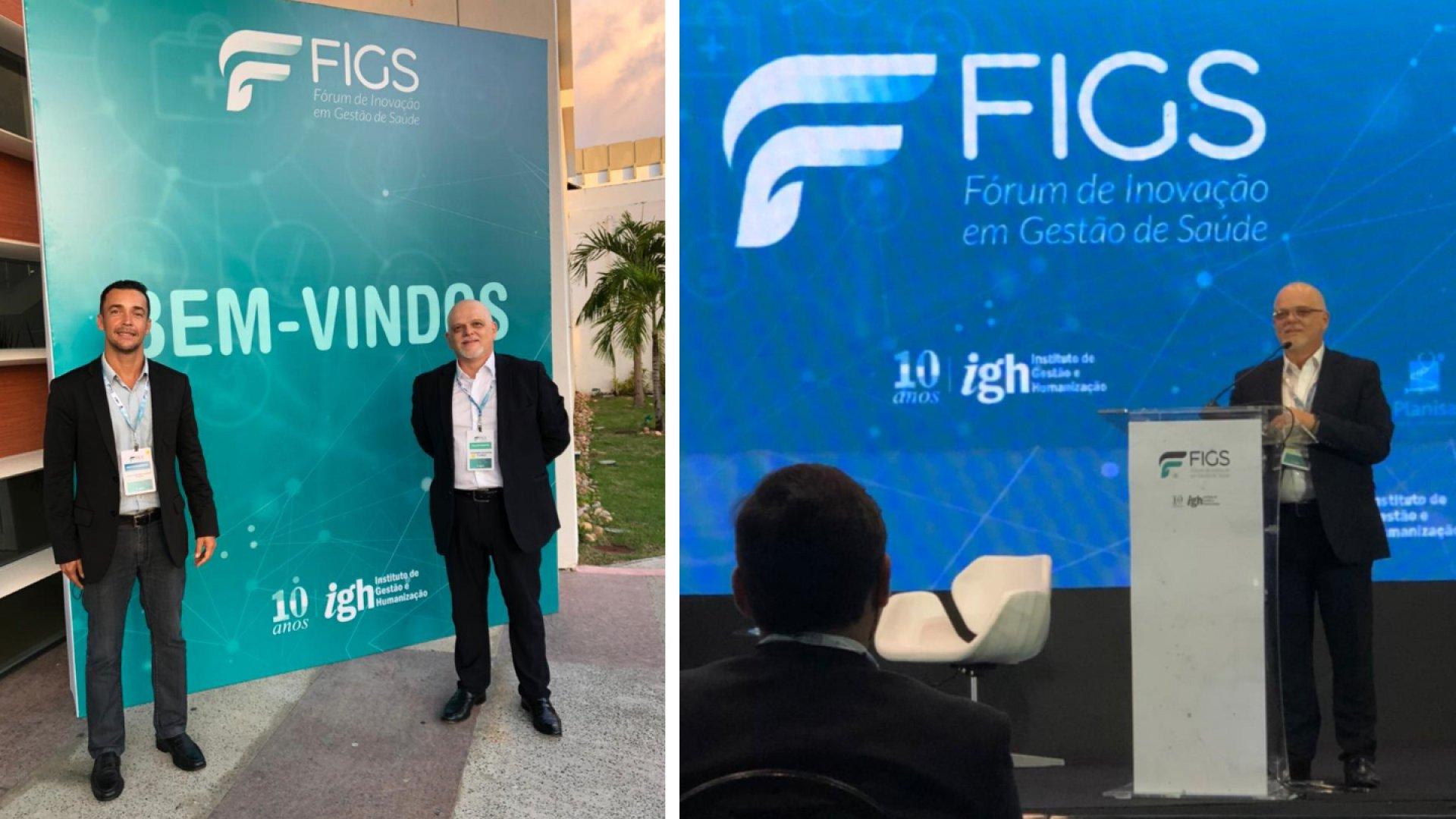 [Especializa participou do Fórum de Inovação em Gestão de Saúde – FIGS]
